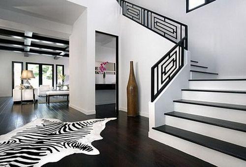 Белые лестницы в интерьере