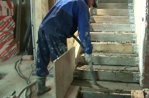 Строим лестницу