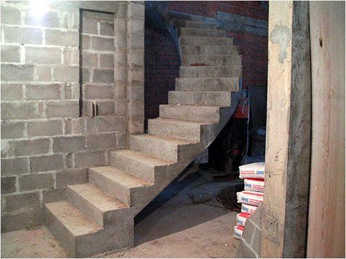 Бетонные лестницы своими руками фото
