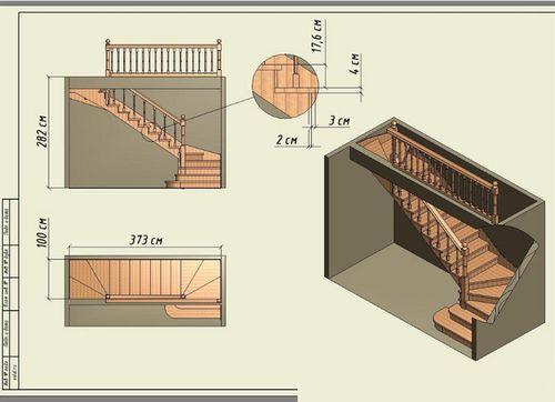 Лестницы в частном доме своими руками расчет