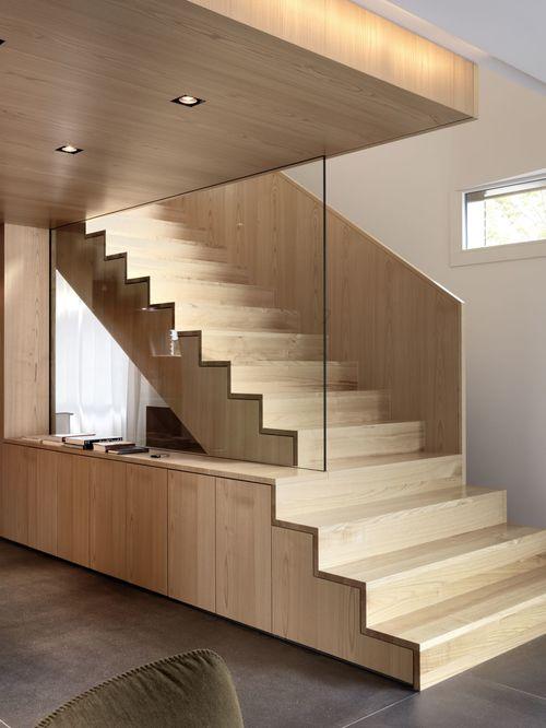 Лестница с хранилищем
