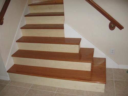 Лестница с расширенным основанием