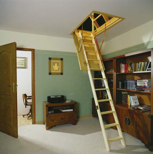 Как сделать лестницу на чердак