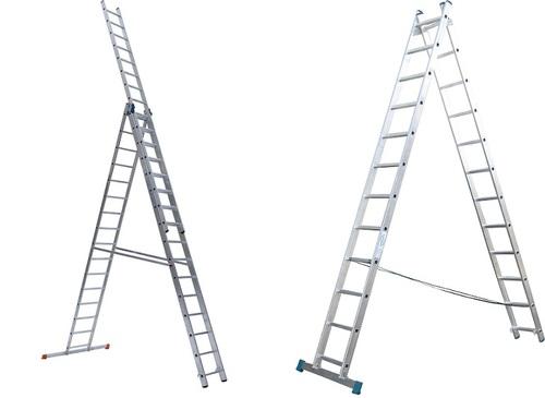 Виды 3-секционных лестниц