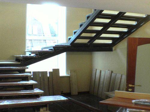 Лестница из металлокаркаса своими руками видео