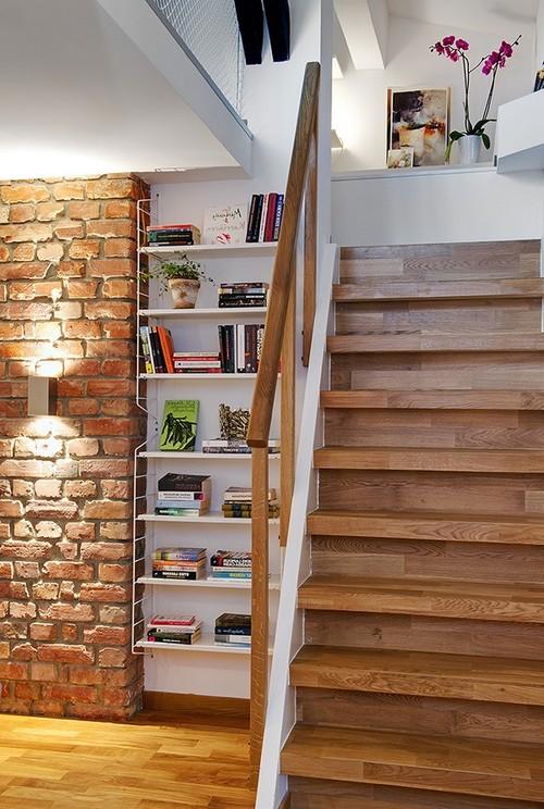 Крутая маршевая лестница