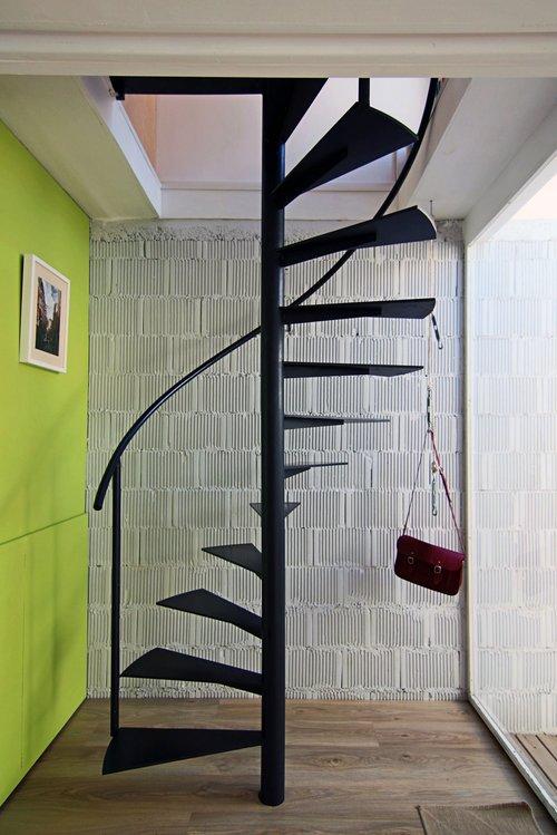 Своими руками железную винтовую лестницу