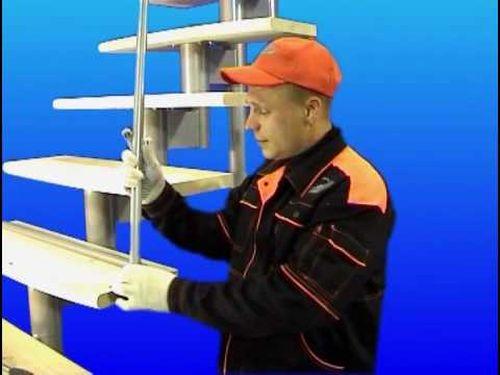 Модульные лестницы — сборка своими руками