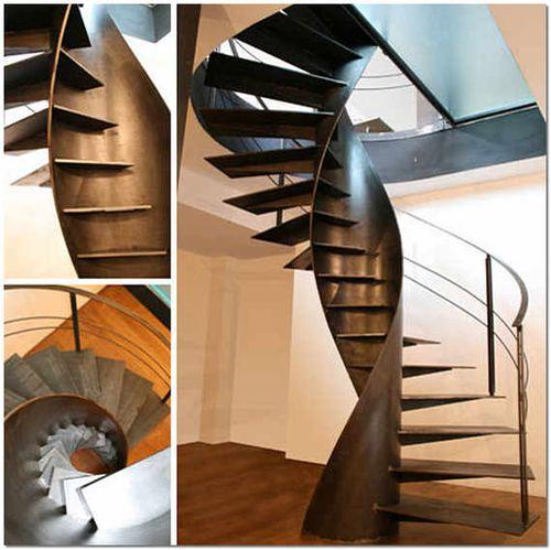 Необычные лестницы на второй этаж дома