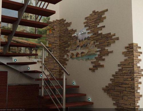 Дизайн лестничных пролетов в частном доме фото