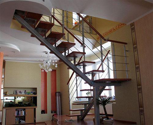 Варианты дизайна лестниц