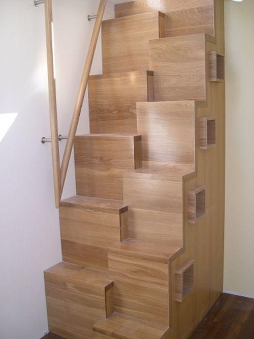 Как выглядит лестница гусиный шаг?