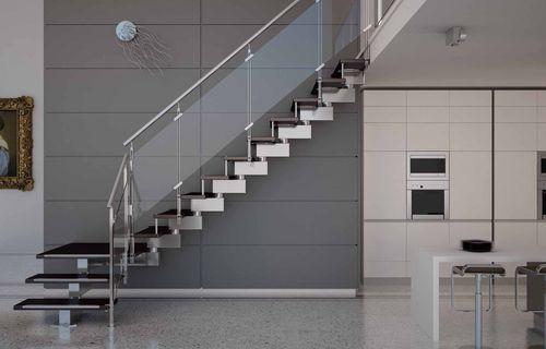 Лестница интерьере дома