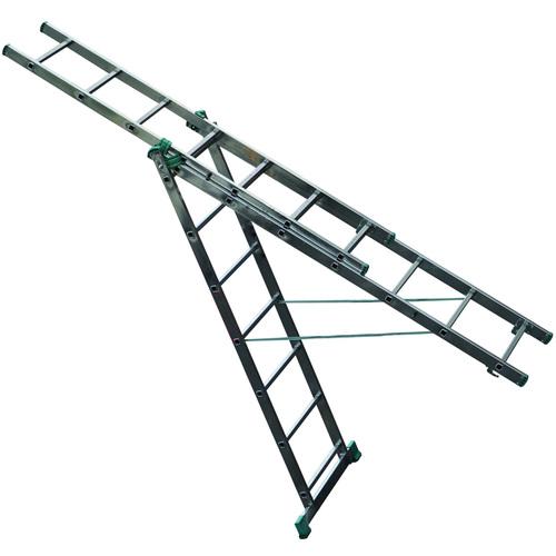 Вариант трехсекционной лестницы