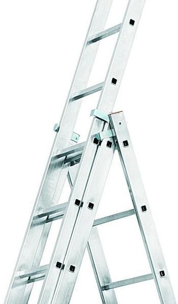 Конструкция трехсекционной лестницы