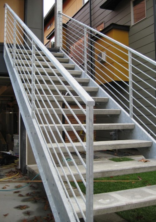 Уличные лестницы для дома своими руками 973