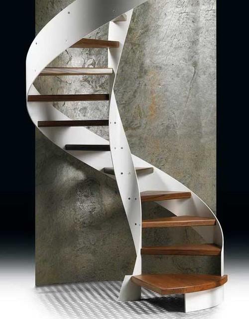 Дизайнерская винтовая лестница