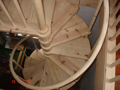 Ступени винтовой лестницы