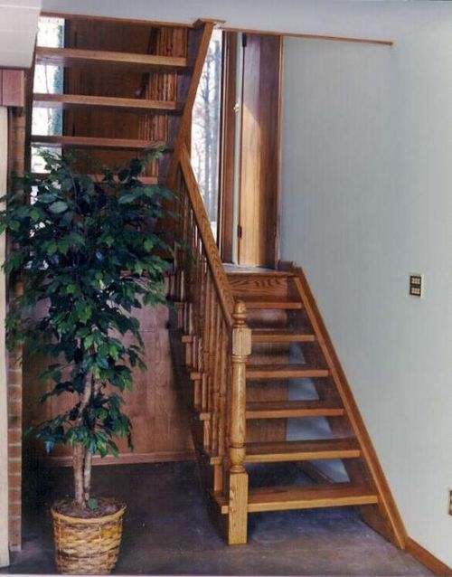 Деревянные лестницы на тетивах