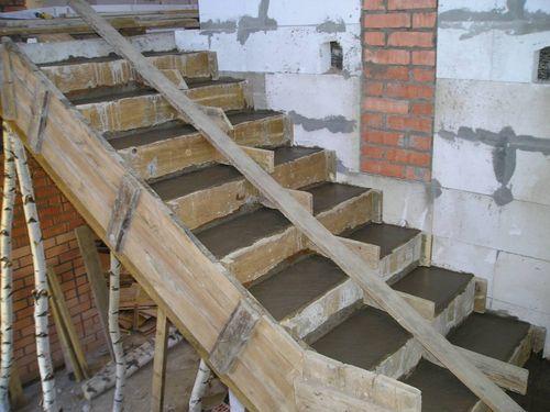 Изготовление и монтаж ступеней лестницы