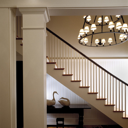 Маршевая деревянная лестница