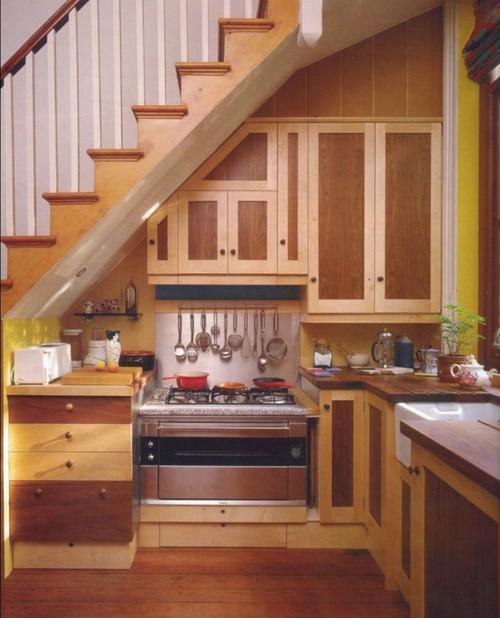 Как сделать из кухни лестницу 577