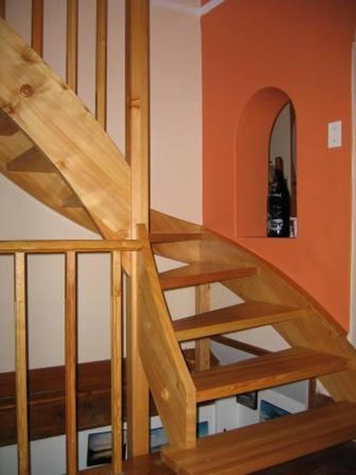 Комплектующие для модульных лестниц в Твери - Перила