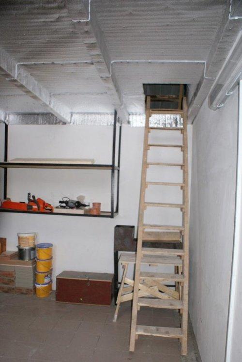 Другой вариант лестницы из дерева