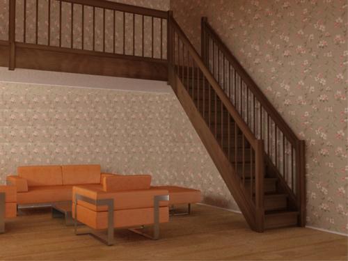 Индивидуальный проект лестницы