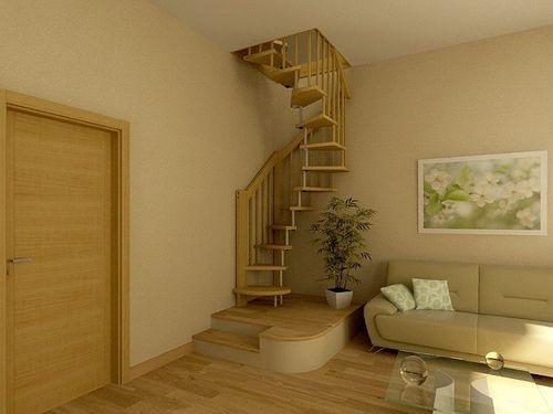 Лестница внутри дома на второй этаж своими руками