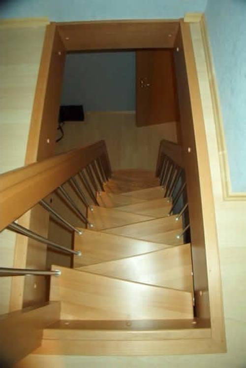 Как сделать маленькую лестницу своими руками