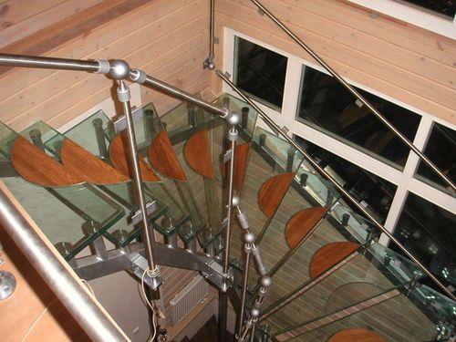 Какой должна быть высота перил лестницы
