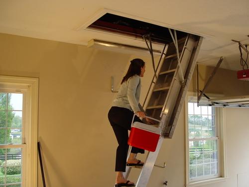 Лестница готова к использованию