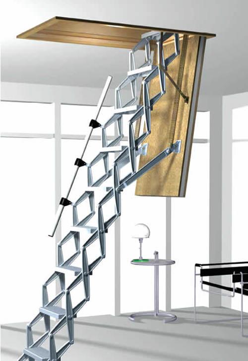 Необычная конструкция лестницы