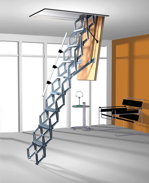 Ещё одно исполнение люка с металлической лестницей