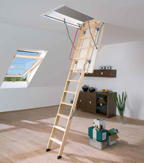 Чердачные лестницы Fakro: от выбора до монтажа