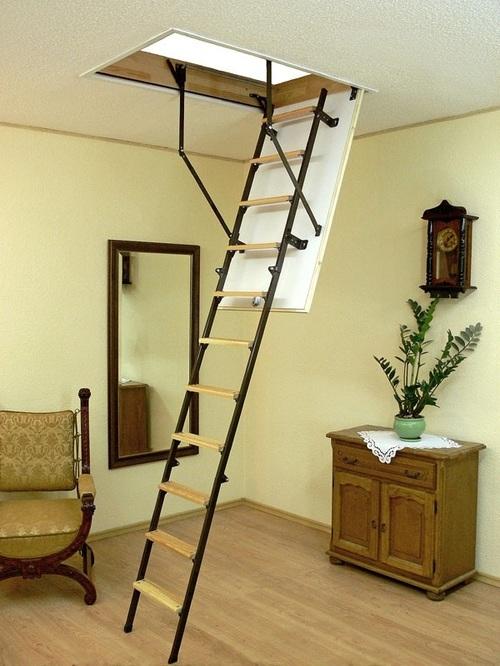 Чердачные лестницы Oman: выбор для дома