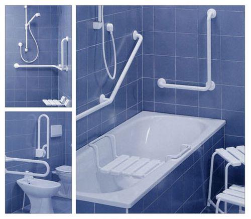 Какие поручни бывают для ванной?