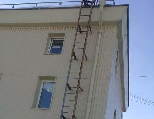 Виды пожарных лестниц