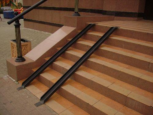 Как выбрать угол уклона пандуса для инвалидных колясок