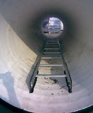 Лестницы для колодцев: виды, характеристики, особенности