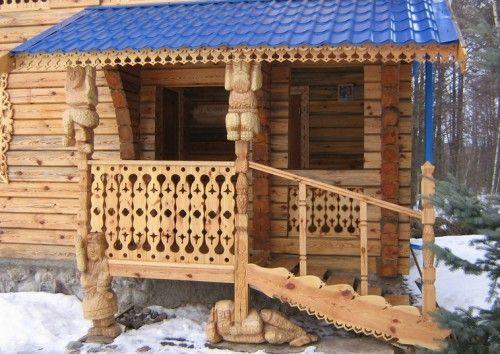 Дизайн крыльца частного дома: фото вариантов оформления