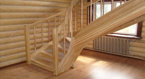 Выбираем лестницу из лиственницы