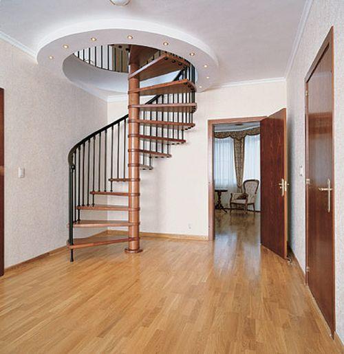 Выбираем круглую лестницу