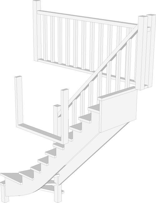 Как происходит проектирование лестницы на второй этаж