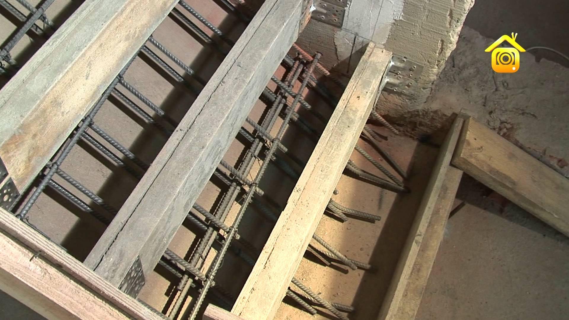 Как изготовить монолитную лестницу самому