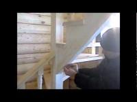 Как самостоятельно собрать деревянную лестницу
