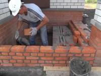 Как сделать крыльцо из кирпича у дома
