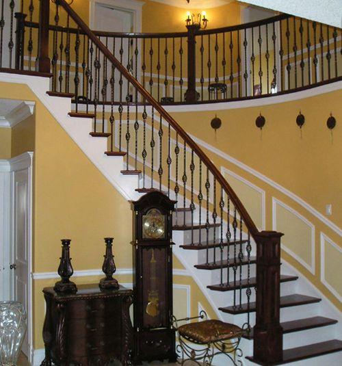 Резная балясина из дерева Gamburg-C для лестниц по цене 1