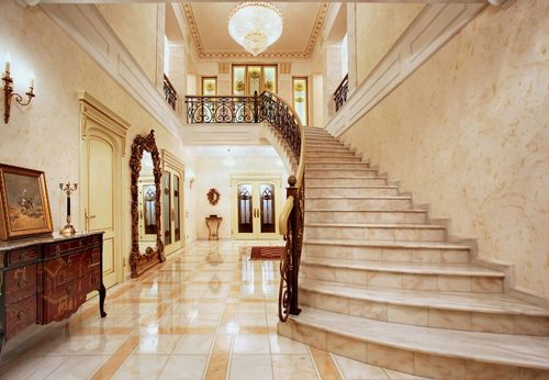 Как выглядит лестница в английском стиле
